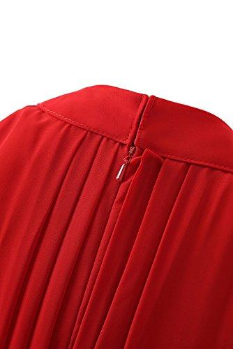 Robes Courtes De Demoiselle D'honneur Des Femmes Dys Salut Lo Fard À Joues En Mousseline De Soie Robe De Bal Retour À La Maison