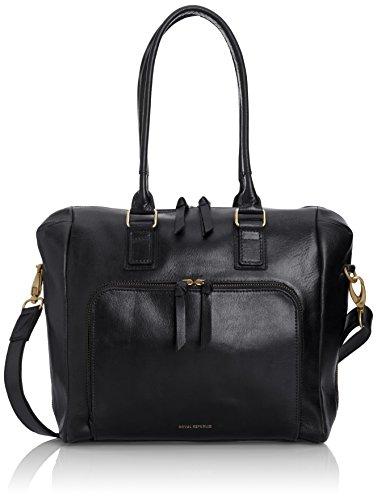Royal RepubliQ Countess Handbag, Borsa A Mano da donna Nero (Black)