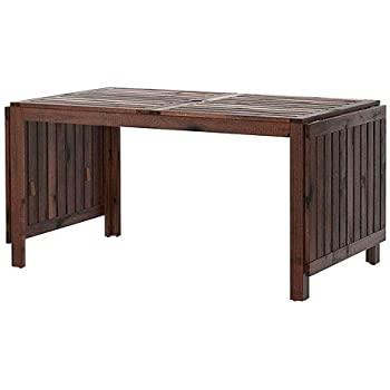 Sensational Ikea Applaro Drop Leaf Table Brown Gmtry Best Dining Table And Chair Ideas Images Gmtryco