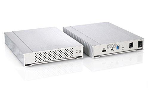 MiniPro RAID V3 USB 3.1 Type-C (USB-C) Dual Bay Enclosure (CB3R3-SL)