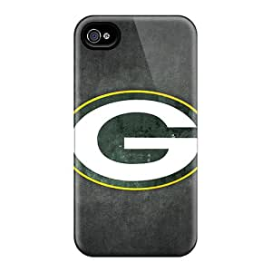 Special Alfredbb Skin Case Cover For Iphone 4/4s, Popular Green Bay Packers Phone Case