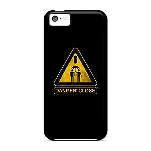 CzcPKBX7204OlrvU Anti-scratch Case Cover BrianLee Protective Danger Close Case For Iphone 5c