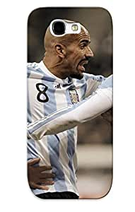 Brand New Note 2 Defender Case For Galaxy (lionel Messi World Cup Argentina National Football Team )