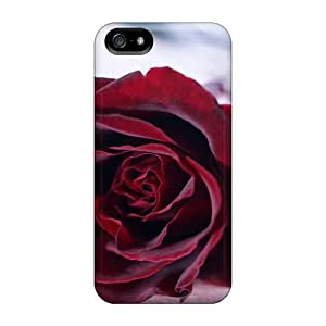 Iphone Covers Cases - Red Velvet Rose Protective Cases Compatibel With Iphone 5/5s