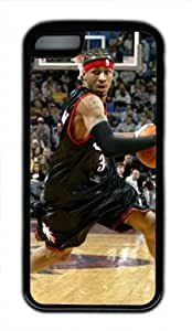 Allen Iverson Philadelphia 76ers #3 NBA Sports DIY iphone 5c tpu black
