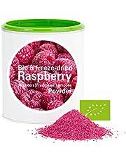 Framboise en poudre - Lyophilisées|biologique|végan|crue|pure fruits|sans additives|riches en vitamins|Good Nutritions 120g