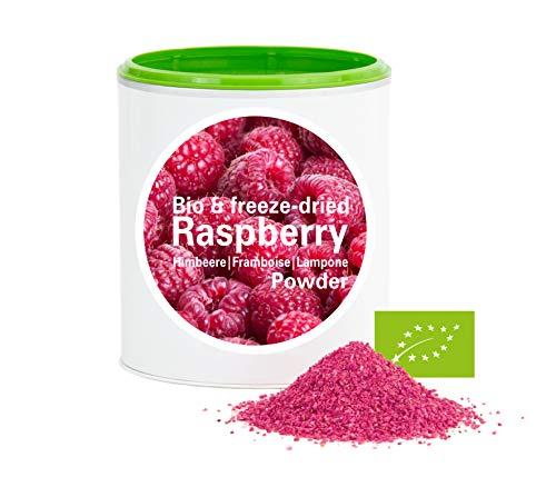 Himbeerpulver – Bio Himbeere gefriergetrocknet |bio organic| freeze-dried raspberrys| good-superfruit von good-smoothie| 100% frucht |ohne zusatzstoffe + viele Inhaltsstoffe| 120g