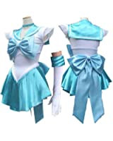 Sailor Moon Mercury full set Cosplay Costume Customized Any Size