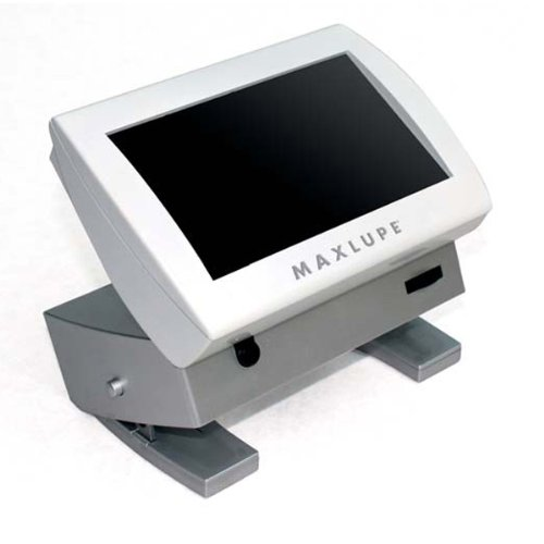 Maxlupe - 5.8 Inch Color Portable Video Magnifier - 3 Hrs. of Battery Use!