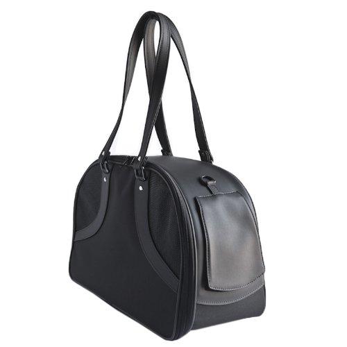 Large Petote Roxy Pet Carrier Bag, Black, Large