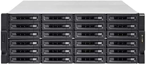QNAP TS-2483XU-RP Ethernet Bastidor (4U) Negro NAS - Unidad Raid ...