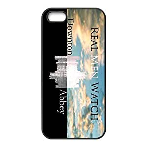 Downton Abbey Design Solid Rubber Customized Cover Case for iPhone 5 5s 5s-linda428