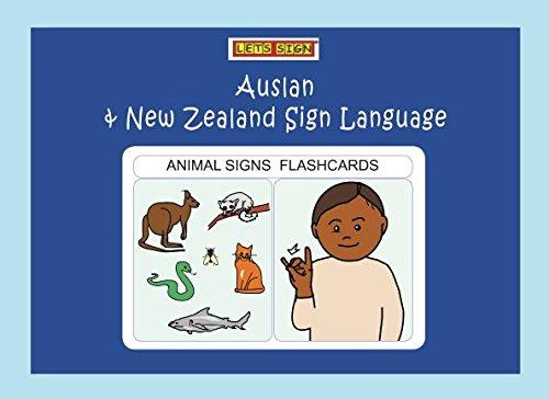 Amazon com: ANIMAL SIGNS FLASHCARDS: Auslan & New Zealand Sign