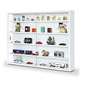 Inter Link Easy Home Simply A20 White Display Cabinet, White