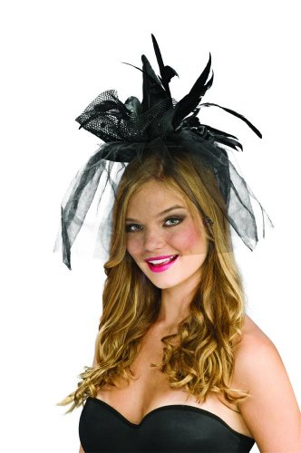 Black Mini Witch Hat Adult (Black;One Size)