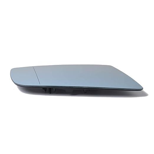 RONSHIN 51167065082 Color Azul Espejo retrovisor de Cristal para BMW Serie 5 E60 E61 E63
