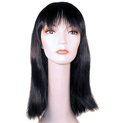 Lacey Wigs Cleo Long Deluxe Burnt Flame Red Costume Wig]()