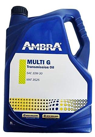 Ambra Aceite Hidraulico Multi G 10w30 Tractores y Maquinas Agricolas: Amazon.es: Coche y moto