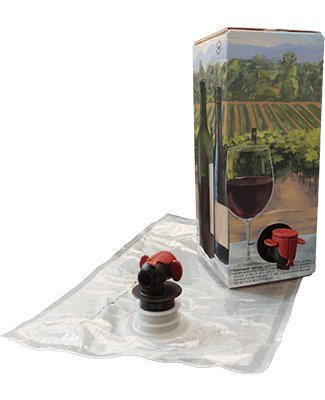 1.5L Red Wine Bag-In-Box Kits [Eco-Friendly Wine Bottle Alternative] - Easily Bottle & Store Your Wines - Perfect For Home Winemakers & Wineries (3 pack of 1.5L Red Wine Bags ()