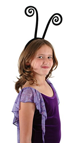[elope Black Spiral Antenna Headband] (Fly Costumes)