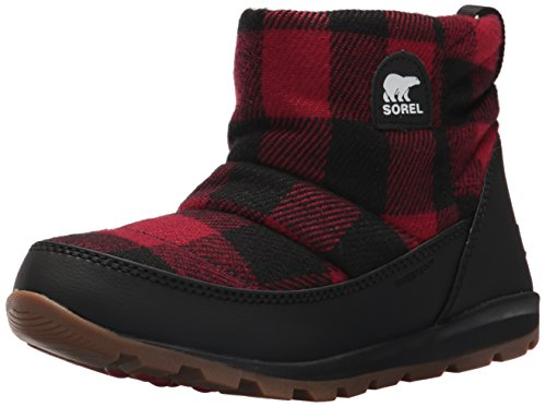 Sorel Womens Whitney Camp Closed Toe Ankle Cold Weather Boots