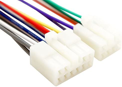 amazon com: fits toyota tundra 1999-2015 factory radio oem original stereo wire  harness plug: car electronics