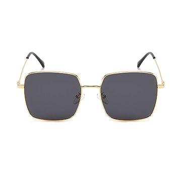ZHAO YING Gafas De Sol con Caja Polarizada Gold Line (Color ...