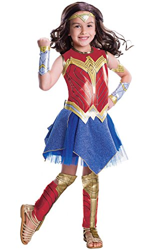 Rubie's Costume Girls Justice League Deluxe Wonder Costume