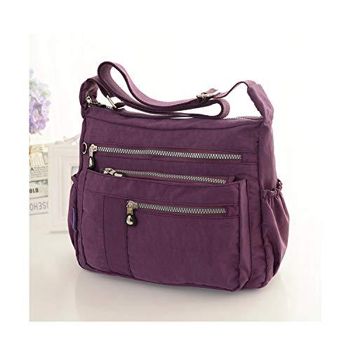 imperméable Mano Bags Violet Bolsa Sacs à Sunonip Women nylon femmes bandoulière Sac de pour en TqOwvxaw