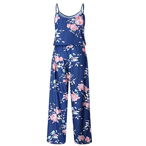 nboba jumpsuits Romer Women Playsuit Overall for Women Clothing Blue L by nboba jumpsuits
