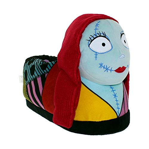 7023-3 - Disney Nightmare Before Christmas - Sally - Medium/Large - Happy Feet Mens and Womens Slippers]()