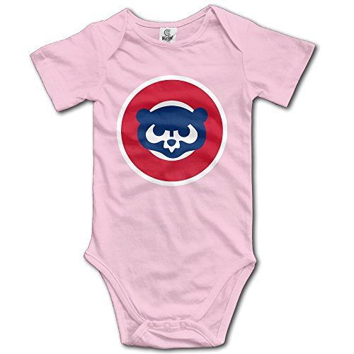 Annabelle Infants Boy's & Girl's CHC Cub Short Sleeve Bodysuit Outfits For 6-24 Months Pink 18 - Boots Mark Jacobs