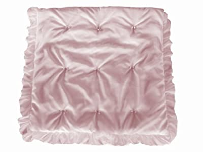 Baby Doll Layered Crib Comforter, Pink from Baby Doll