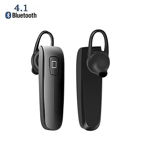 yan Wireless Bluetooth Earpiece Stereo Headset Headphone for Cell Phone Earphone (Power Bluetooth Tip Headset)