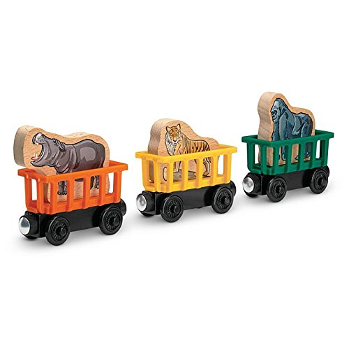 Thomas Zoo (Sodor Zoo Animal Cars - Thomas & Friends Wooden Railway Tank Train Engine - SKU# BMF71)