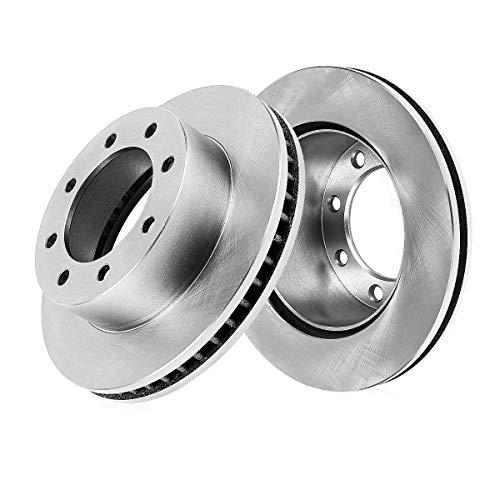 REAR Premium Grade OE 258 mm [2] Rotors Set