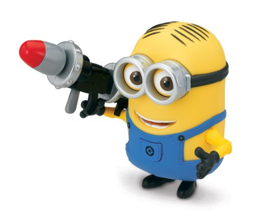 Despicable Me Dave Deluxe Action Figure with Rocket Launcher -