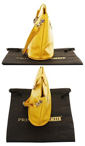 protecteur marque corps Front italien petite sac un autruche fait cuir à rangement sac Jaune effet main nbsp;Comprend Croix Sacchi Primo En main fermoir de ou Wwxq7nBWgp
