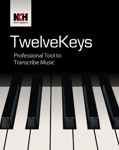 TwelveKeys Music Transcription Software Assists Musicians to Transcribe Music [Download] by NCH Software