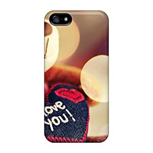 Brand New 5/5s Defender Case For Iphone (i Love You Teddy Bear)