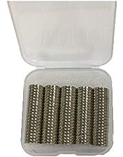 Neodymium Magnet , Grade N42 - Size 8x1.5 Mm - 100 Pices