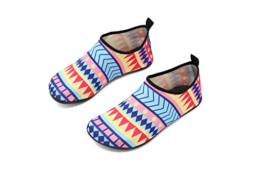 Exercise Kids Dry Yoga Geometry Shoes Quick Men Barefoot Shoes Water Unisex Coolloog Women Beach Aqua for Socks RnqATvZ