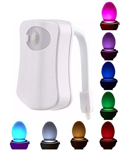 8 color Toilet Nightlight Led Light Sensor - 5