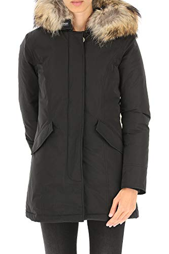 Donna Poliestere Wwcps2604100 Cappotto Woolrich Nero vwq5ffX