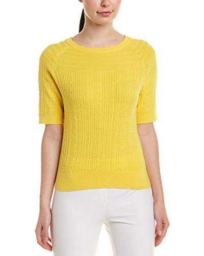 (Brooks Brothers Womens Sweater, S, Yellow)