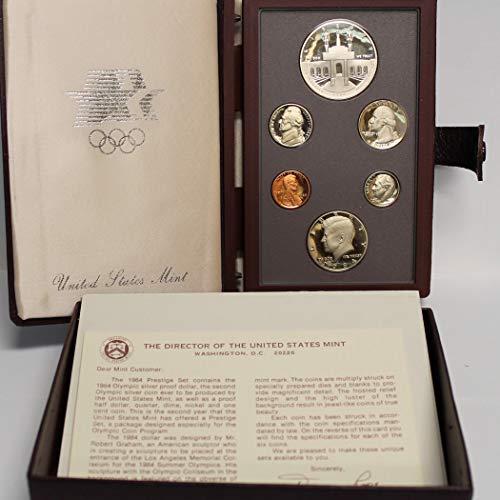 1984 US Mint Prestige Proof Set Original Government Packaging ()