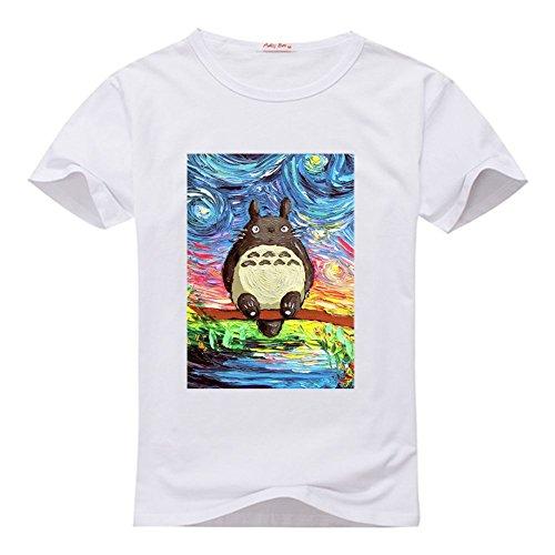 TOTORO Tee Shirt T-shirt Tshirt, Custom Tee Shirts for Men
