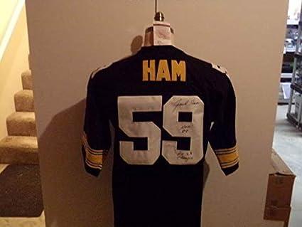 5d200865ff5 Jack Ham Autographed Signed Pittsburgh Steelers Bk Jersey 4X SB Champ  Memorabilia - JSA Authentic