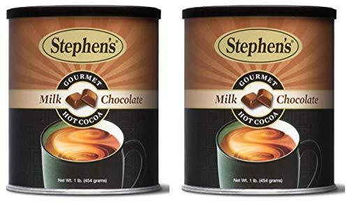 - Stephen's Gourmet Hot Cocoa, Milk Chocolate, 16 OZ (Pack - 2)