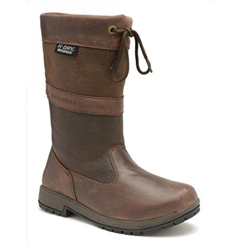 EU Short UK Hornbeam Waterproof 10 Boots Brown Leg Country Leather 44 Kanyon tvqHwpp